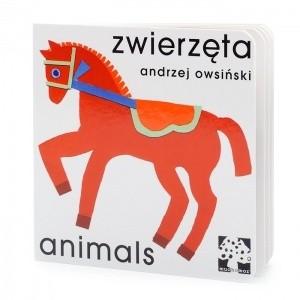 Okładka książki Zwierzęta. Animals