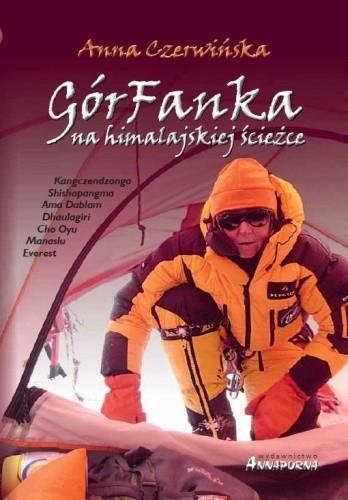 Okładka książki GórFanka na himalajskiej ścieżce