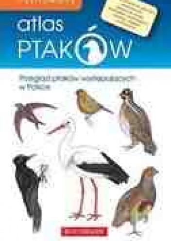Okładka książki Ilustrowany atlas ptaków