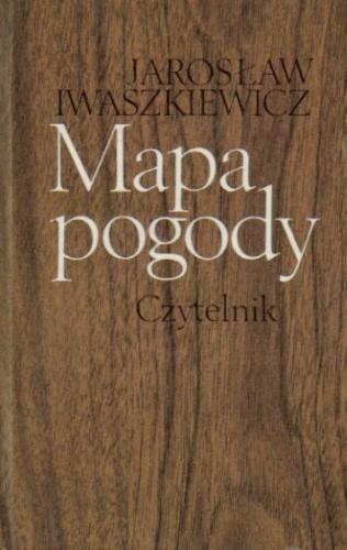 Okładka książki Mapa pogody