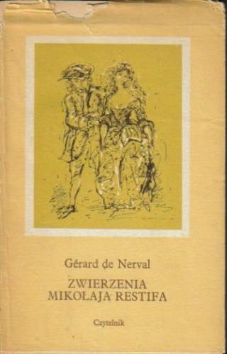 Okładka książki Zwierzenia Mikołaja Restifa