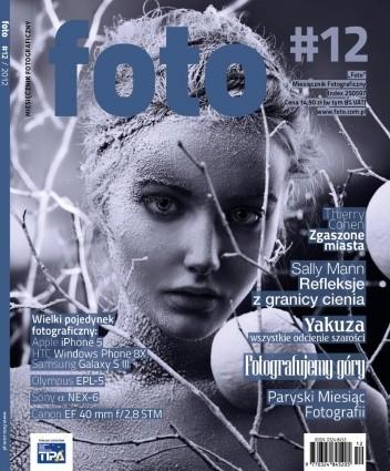Okładka książki foto, nr 12/grudzień 2012