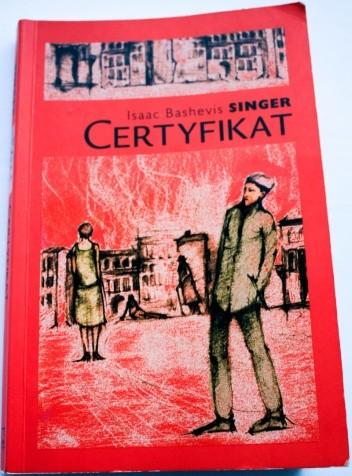 Okładka książki Certyfikat