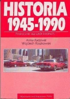 Okładka książki Historia 1945-1990