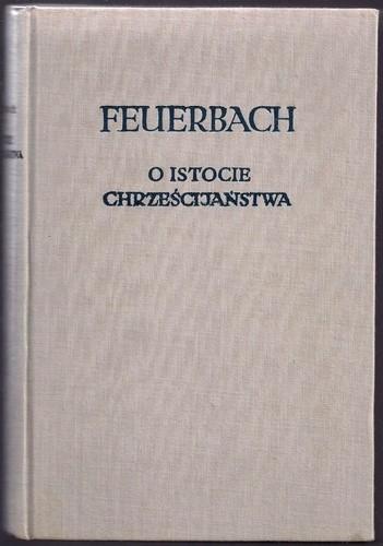 Okładka książki O istocie chrześcijaństwa