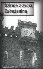 Okładka książki Szkice z życia zabużanina