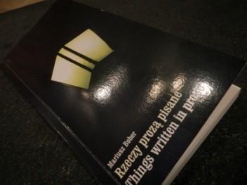 Okładka książki Rzeczy prozą pisane