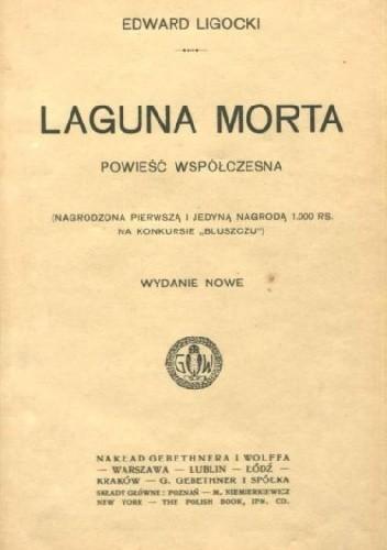 Okładka książki Laguna morta