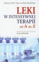 Okładka książki Leki w intensywnej terapii od A do Z