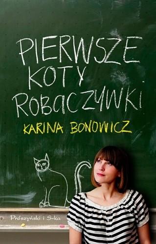 Okładka książki Pierwsze koty robaczywki