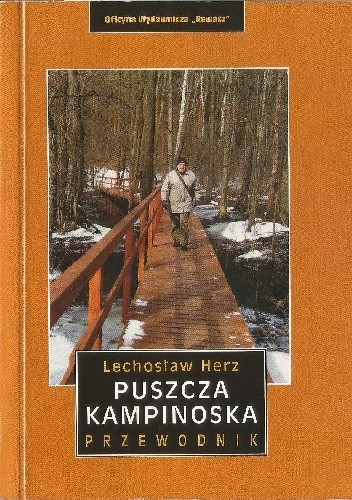 Okładka książki Puszcza Kampinoska przewodnik