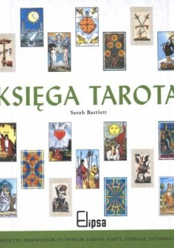 Okładka książki Księga tarota.