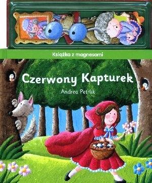 Okładka książki Czerwony Kapturek. Książeczka z magnesami