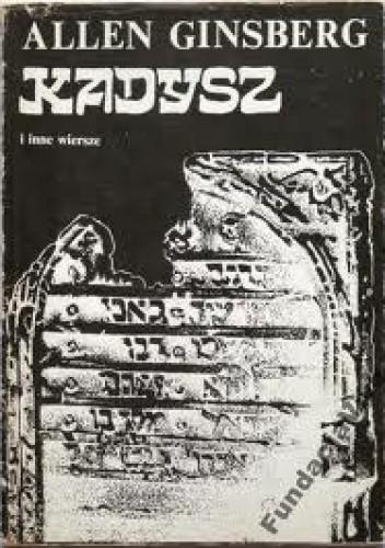 Okładka książki Kadysz i inne wiersze