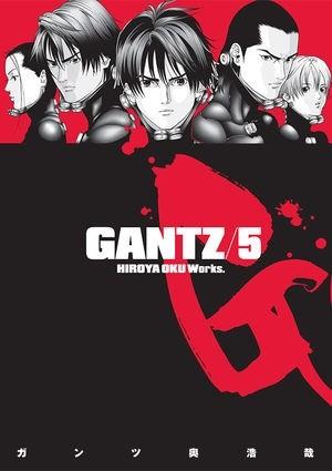 Okładka książki Gantz Volume 05