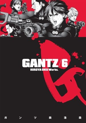 Okładka książki Gantz Volume 06