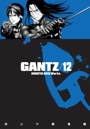 Okładka książki Gantz Volume 12