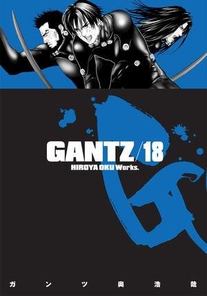 Okładka książki Gantz Volume 18