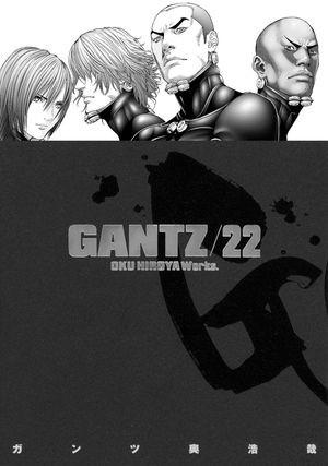 Okładka książki Gantz Volume 22