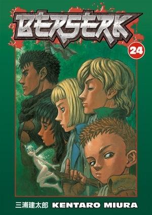 Okładka książki Berserk Volume 24