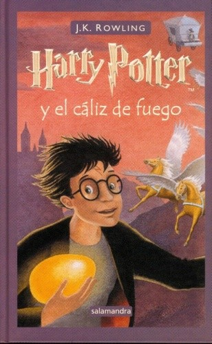 Okładka książki Harry Potter y el cáliz de fuego