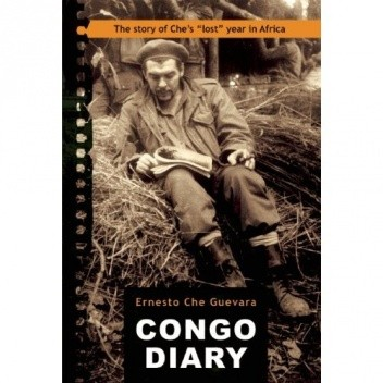 "Okładka książki Congo Diary. The Story of Che Guevara's ""Lost"" Year in Africa"