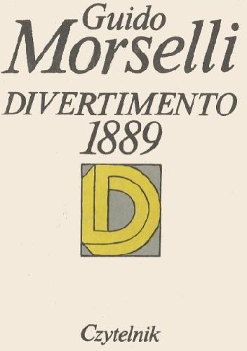 Okładka książki Divertimento 1889