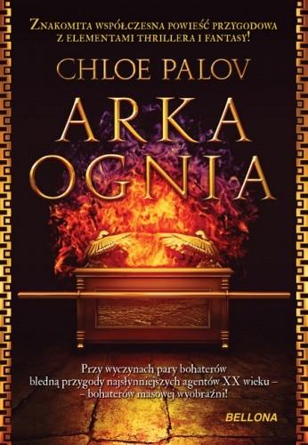 Okładka książki Arka ognia