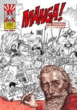 Okładka książki Manga po polsku