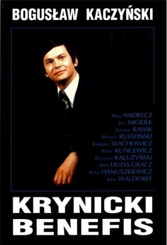 Okładka książki Krynicki benefis