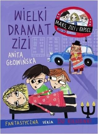 Okładka książki Wielki dramat Zizi