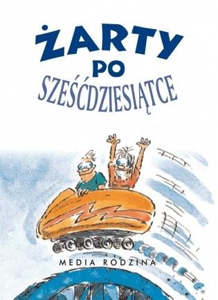 Okładka książki Żarty po sześćdziesiątce