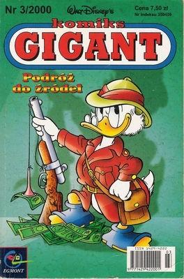 Okładka książki Gigant 3/2000: Podróż do źródeł