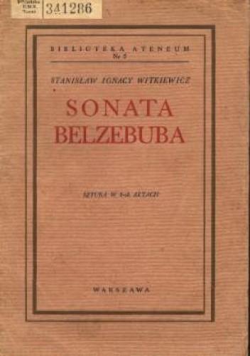 Okładka książki Sonata Belzebuba czyli Prawdziwe zdarzenie w Mordowarze
