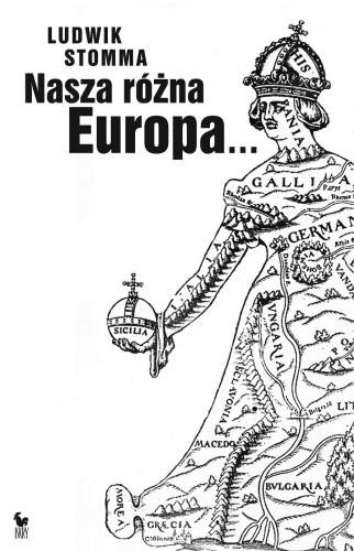 Okładka książki Nasza różna Europa