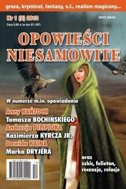 Okładka książki Opowieści Niesamowite nr 01 (05) 2013