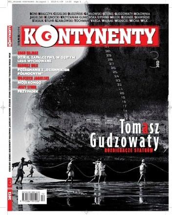 Okładka książki Kontynenty nr 3/2012