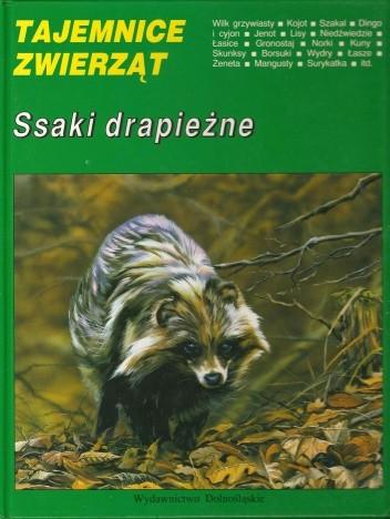 Okładka książki Ssaki drapieżne