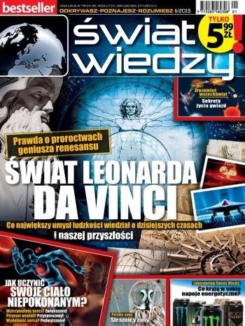 Okładka książki Świat wiedzy (1/2013)