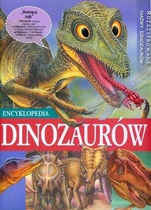 Okładka książki Encyklopedia dinozaurów
