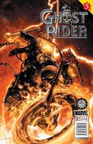 Okładka książki Ghost Rider: Droga ku potępieniu, cz. 1