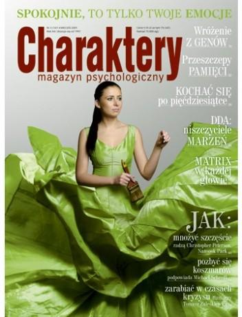 Okładka książki Charaktery, nr 4 (147) / kwiecień 2009