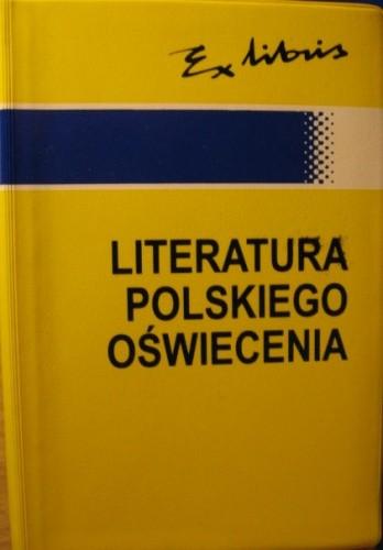 Okładka książki Leksykon przypomnień. Literatura polskiego oświecenia