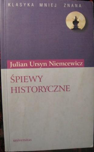 Okładka książki Śpiewy historyczne