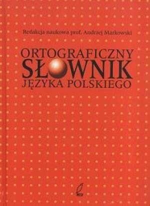 Okładka książki Ortograficzny słownik języka polskiego