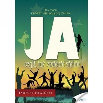 Okładka książki JA, czyli jak zmienić siebie