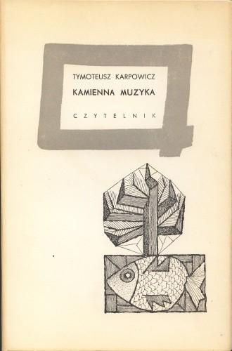 Okładka książki Kamienna muzyka