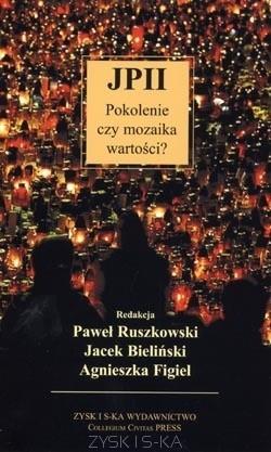 Okładka książki JP II - pokolenie czy mozaika wartości?