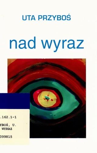 Okładka książki Nad wyraz