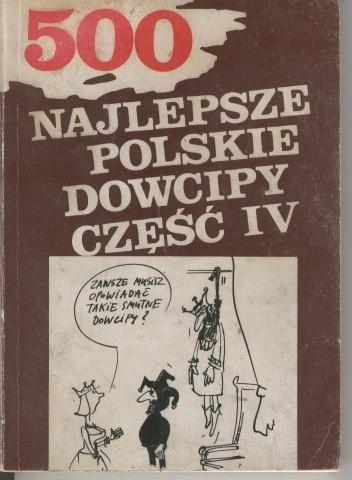 Okładka książki Najlepsze polskie dowcipy część IV